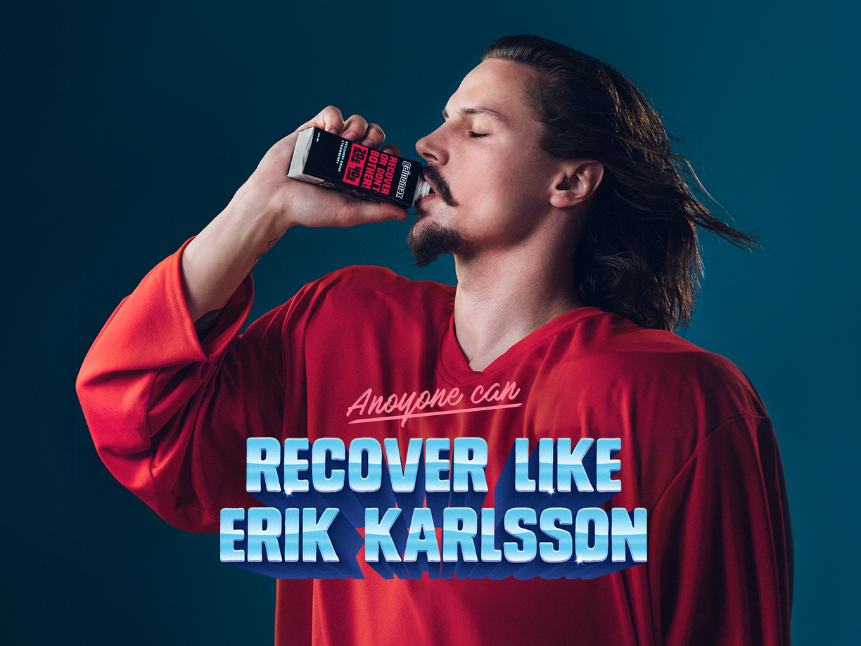 Recover like Erik Karlsson