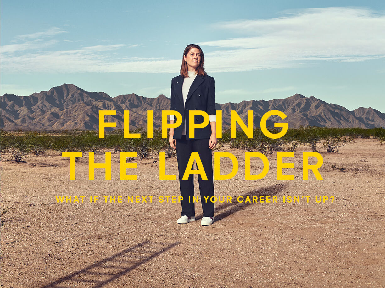 Flipping the Ladder
